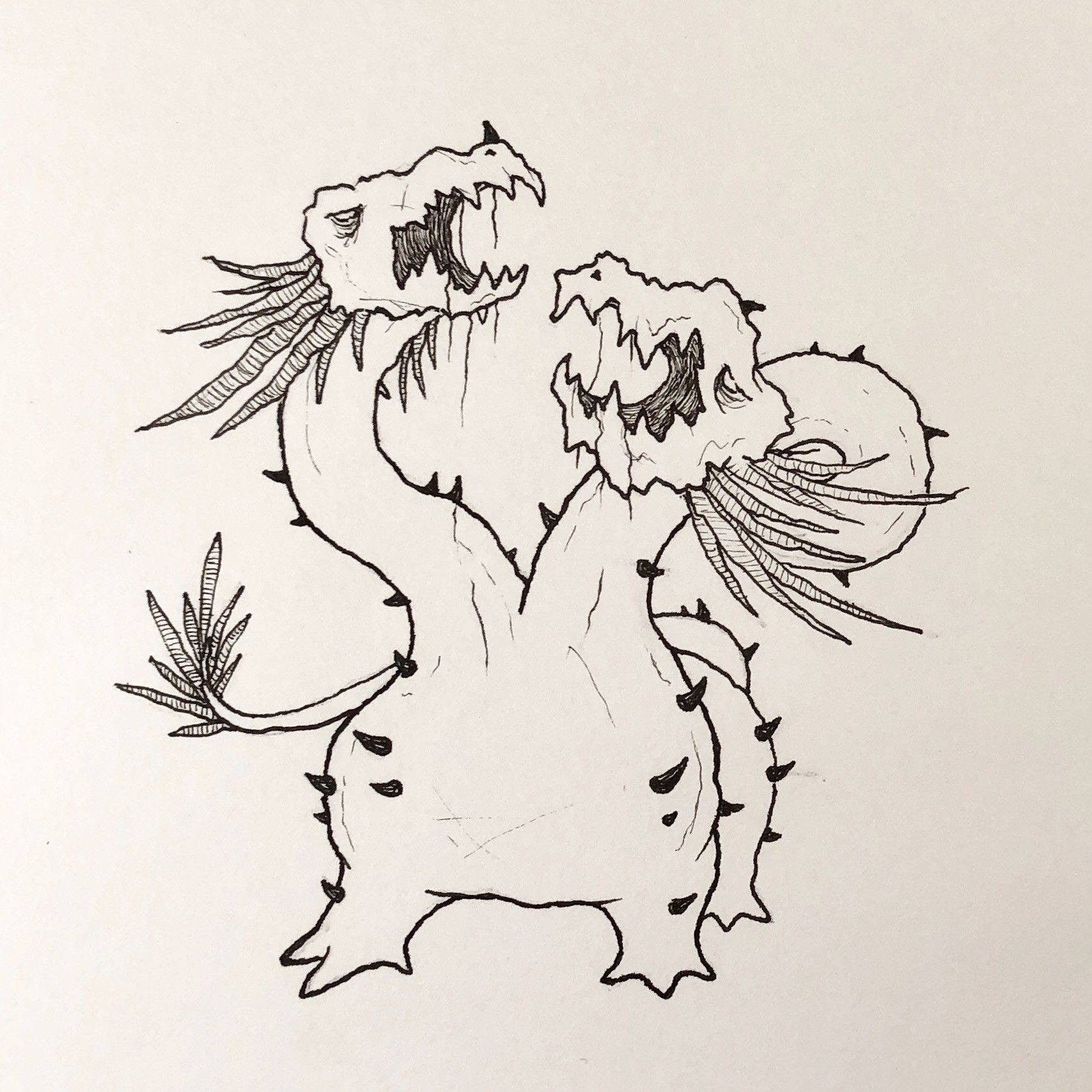 Inktober Day 29 - Double 