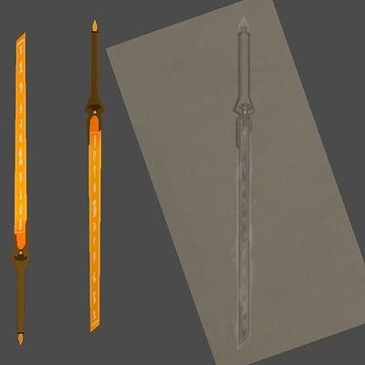 Andrew wilkins item sunforged sword