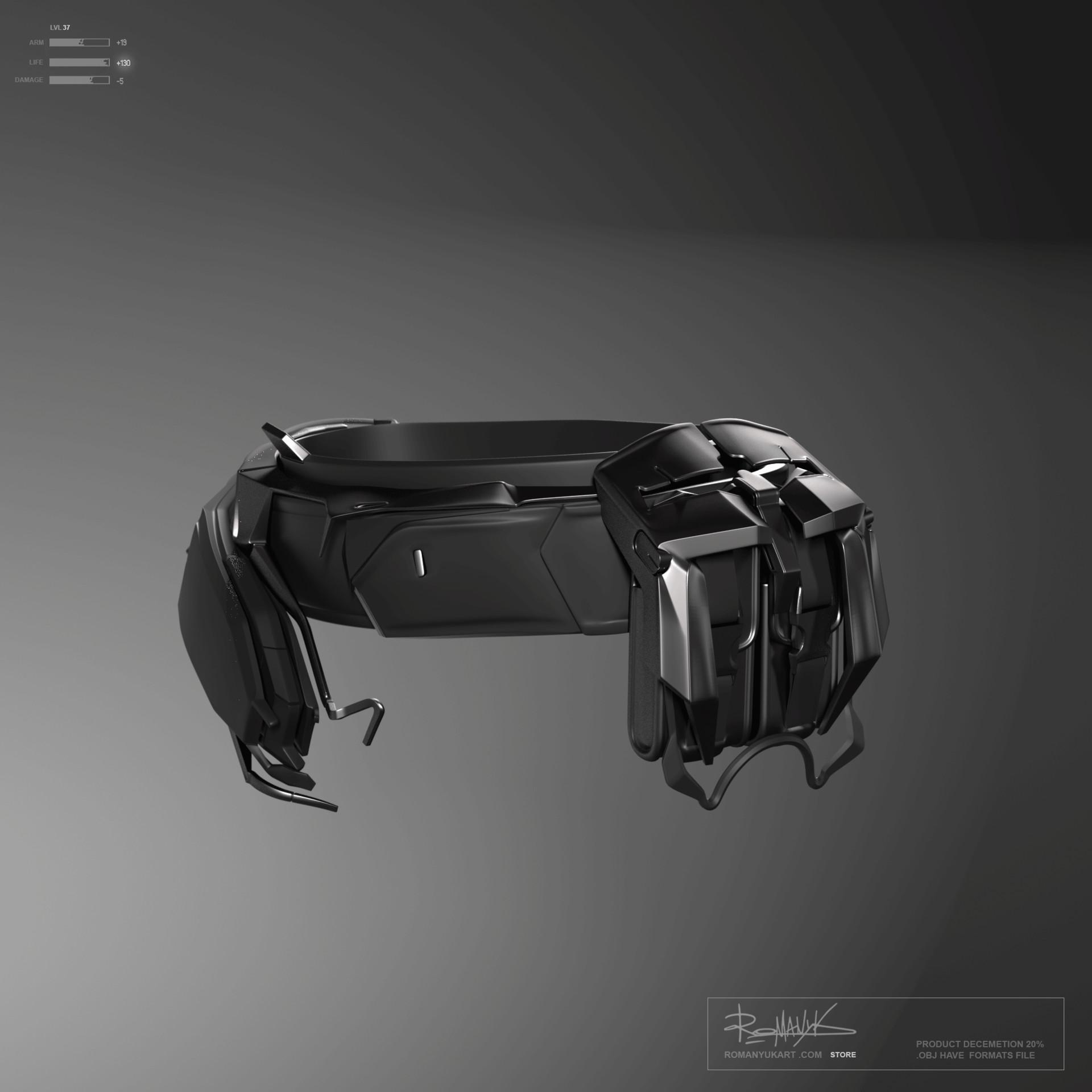 Yuriy romanyk belt spider22 101