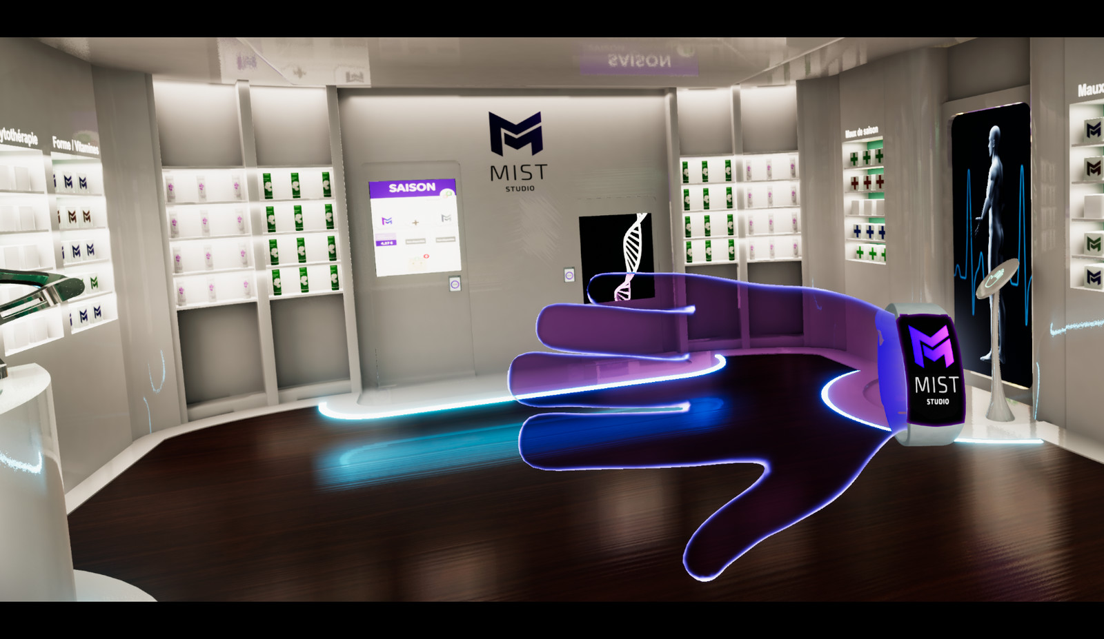 Virtual Reality Pharmacy
