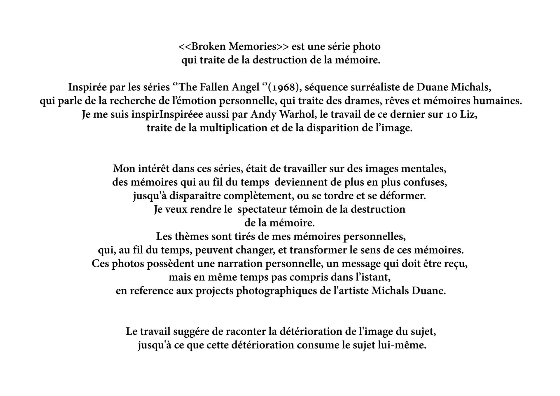 ArtStation - ACCADEMIC PHOTOS PROJECT - Memoire, Carulli