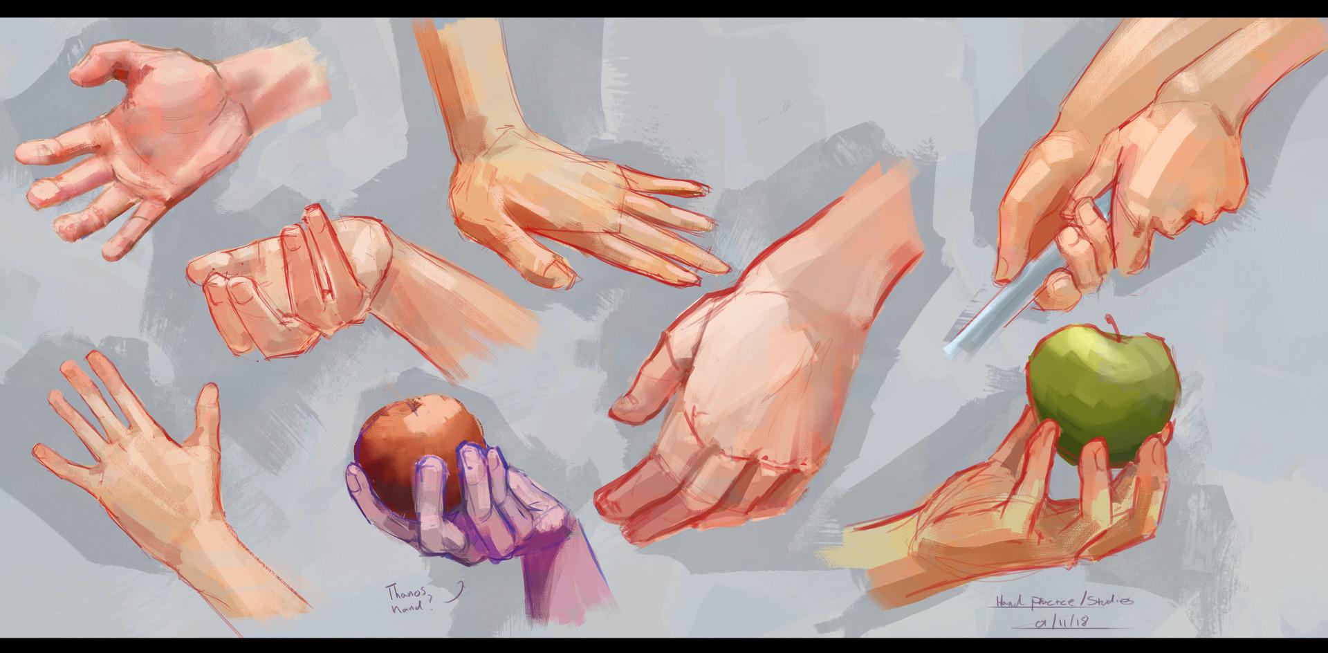 Jack dowell hand practice