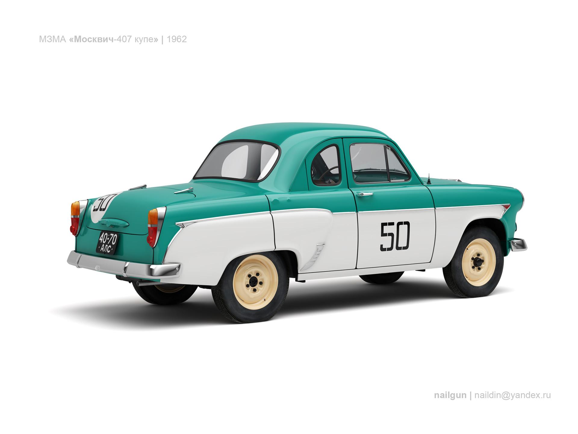 Nail khusnutdinov ussr moskvich 407 coupe 1962 1