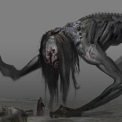 Ahmx hilmi creature sketch