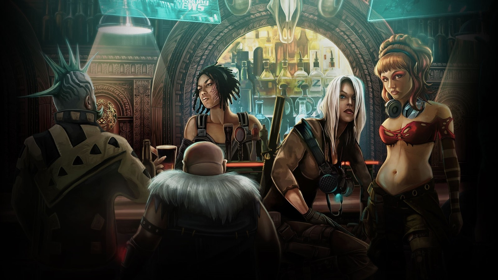 Shadowrun Returns: The Art Book (Harebrained Schemes)