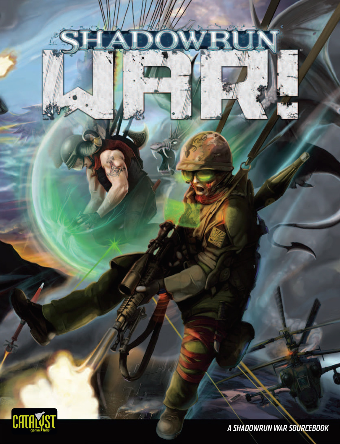 WAR! Cover (Catalyst Game Labs)