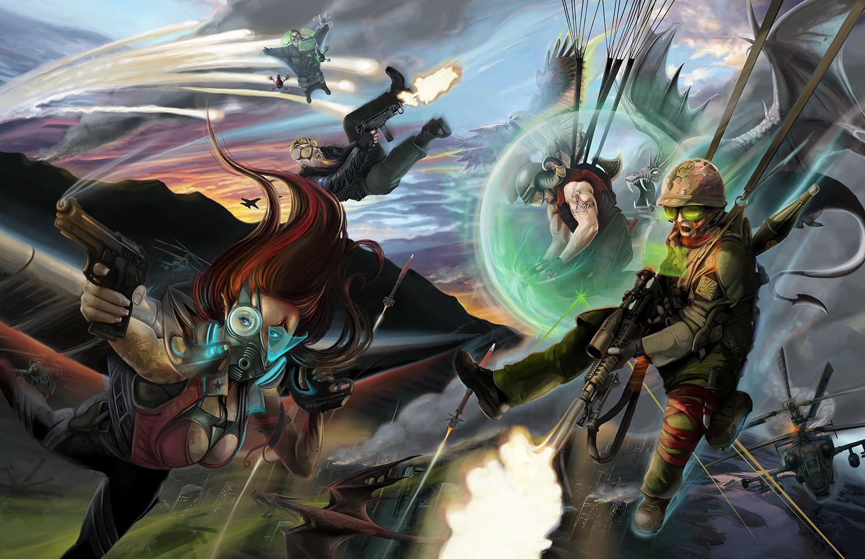 WAR! Art (Catalyst Game Labs)