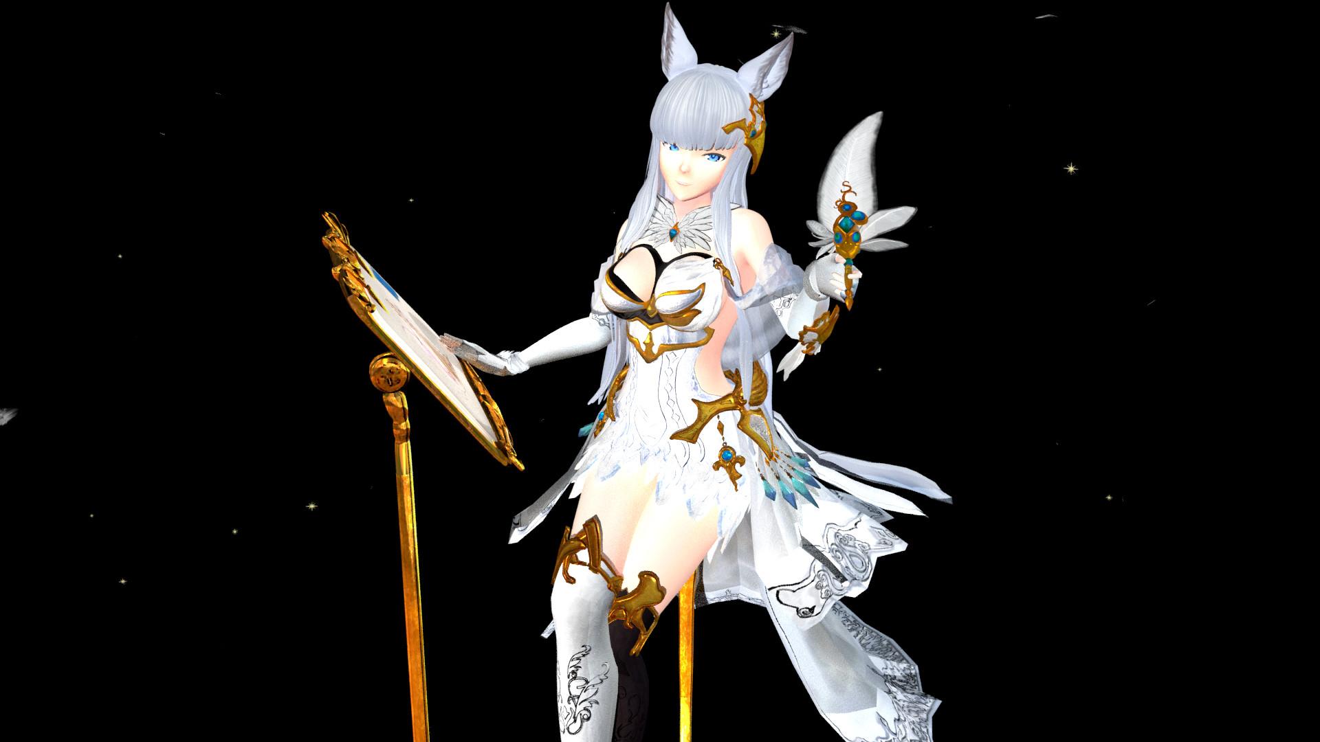 ArtStation - Korwa / コルワ - Granblue Fantasy (3D model +