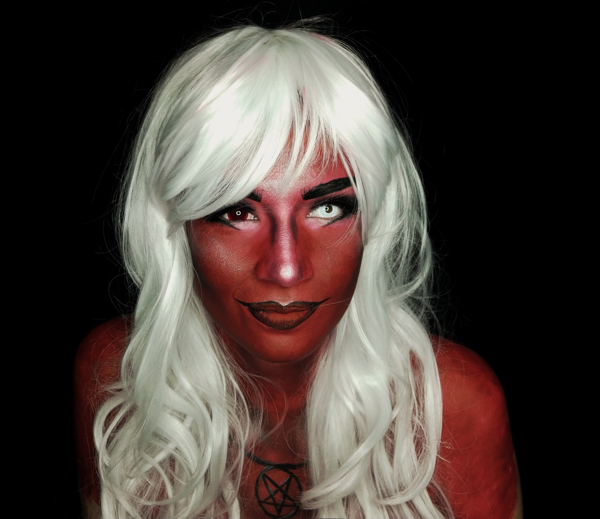 Artstation Hibrid Demon Makeup Patricia Pastor