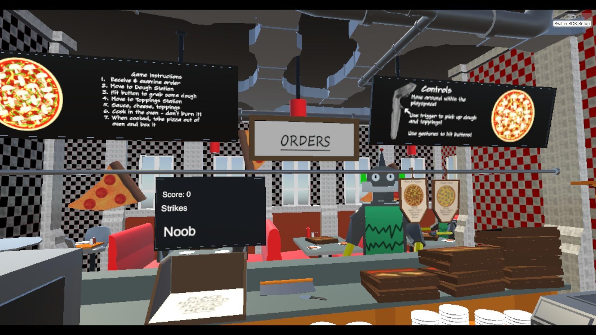 ArtStation - Pizza Time - VR Game, Jeffrey Douglas