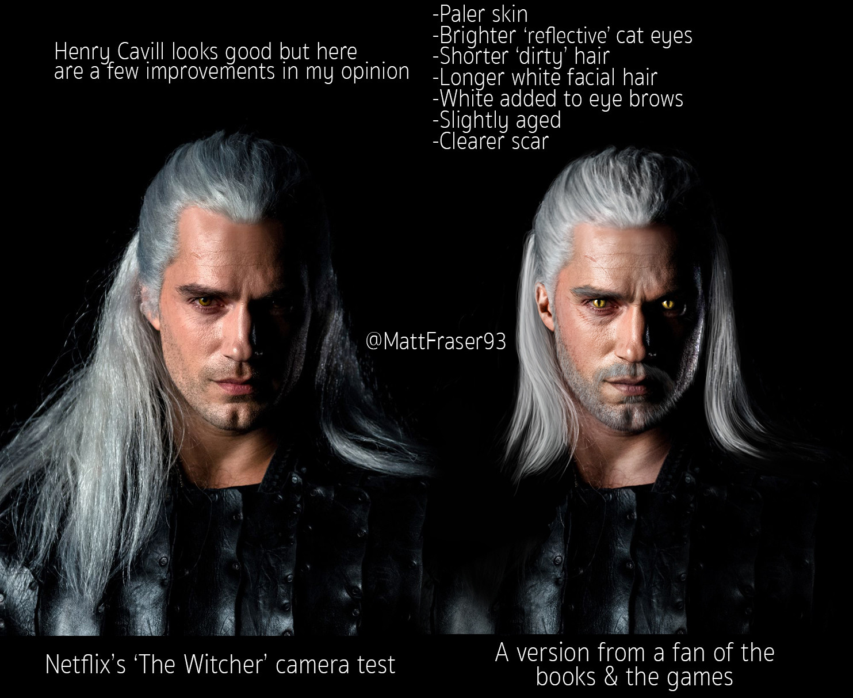 Artstation Netflix S The Witcher Geralt Of Rivia
