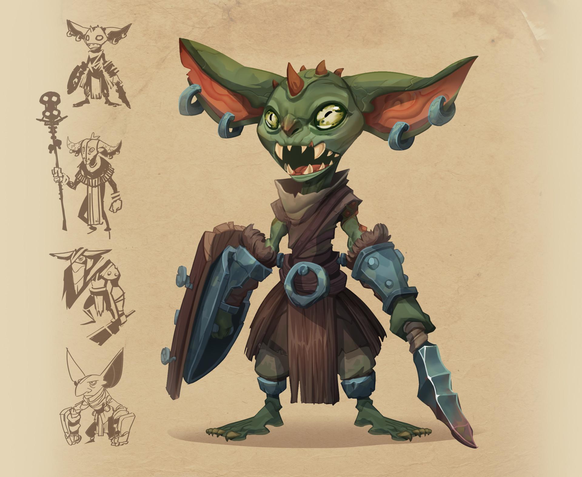 Corey shillingford procrasta goblins