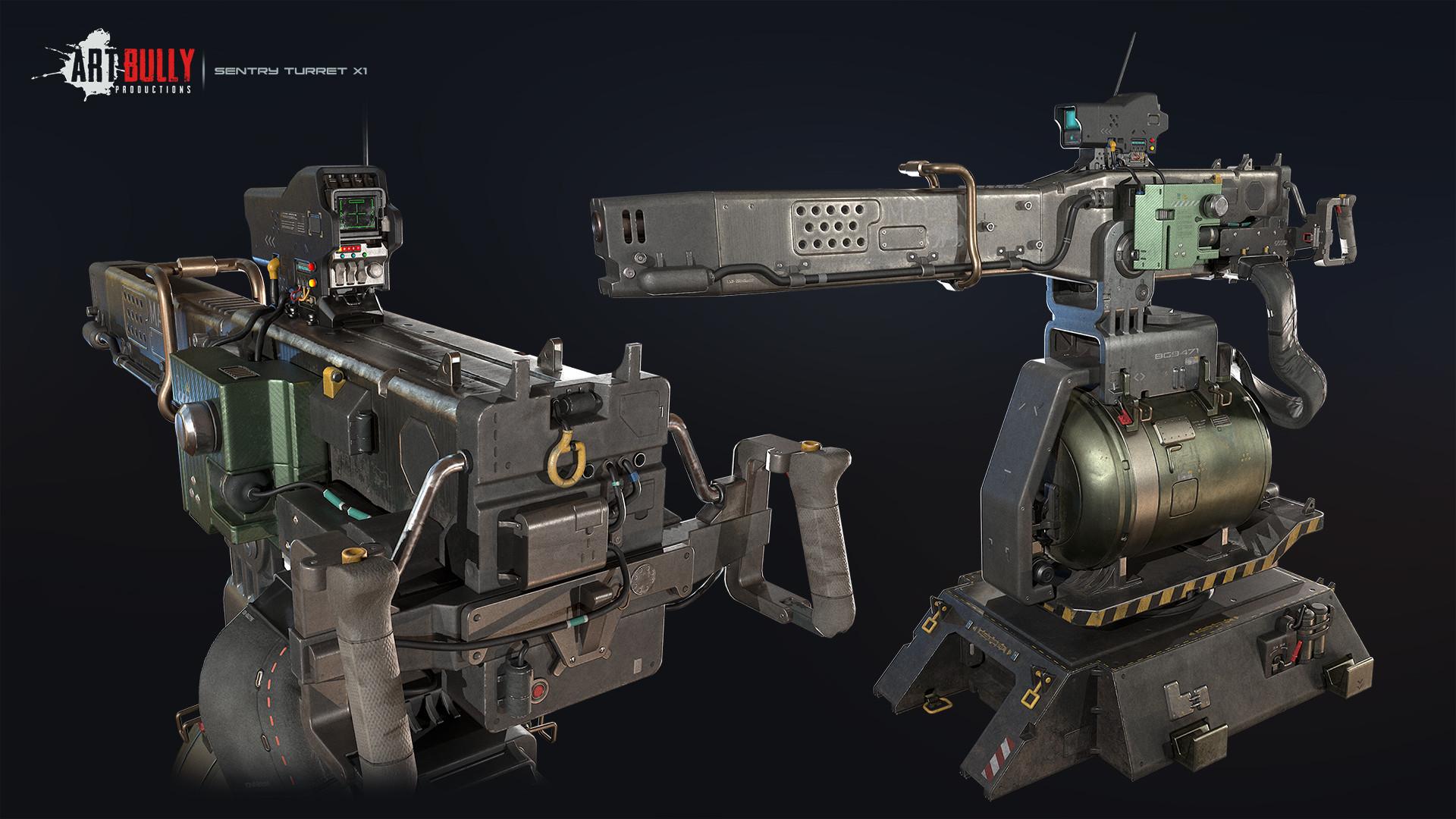 Patrick nuckels sentry turret x1 render 01