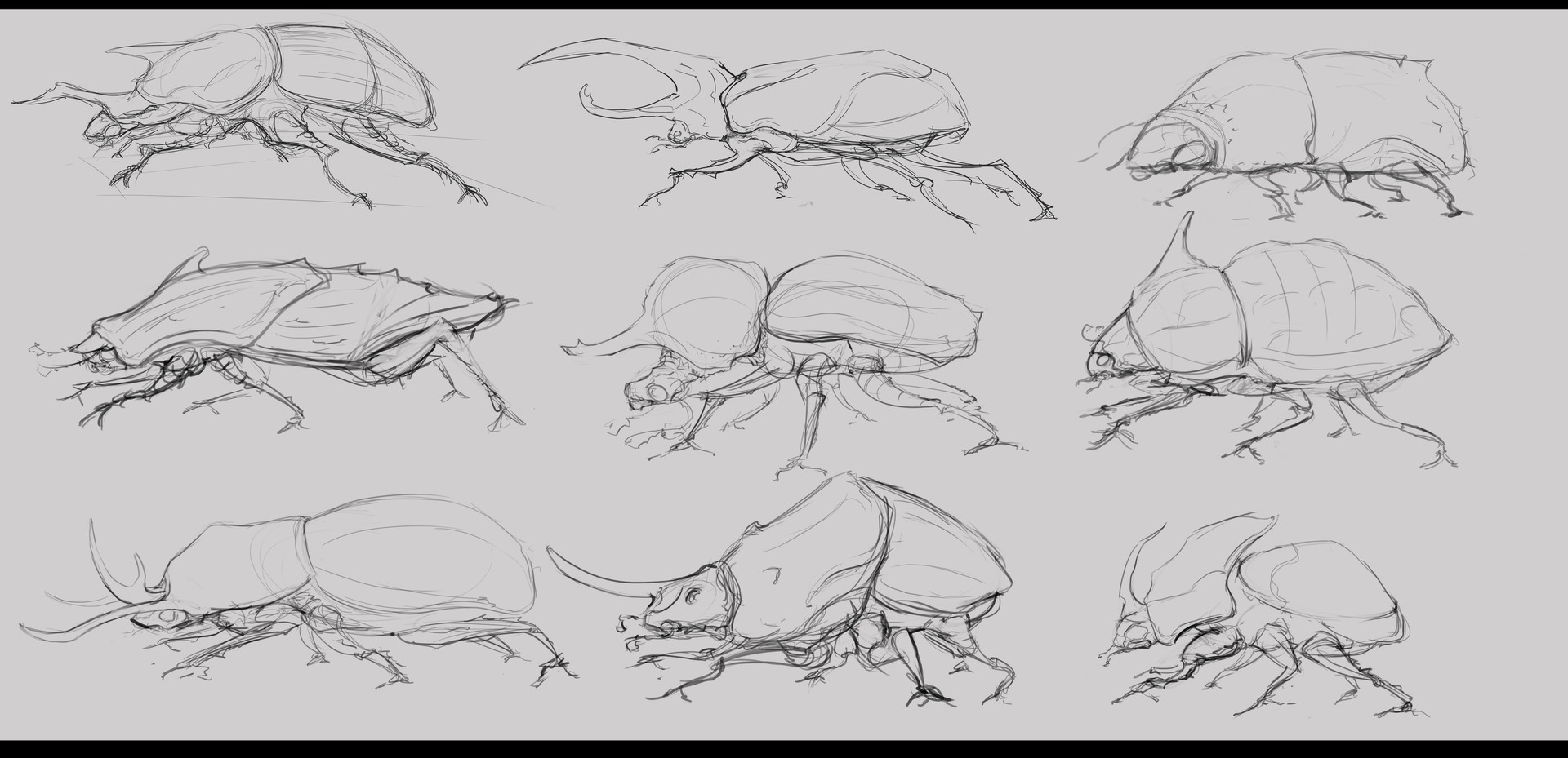 Jack dowell bug sketches