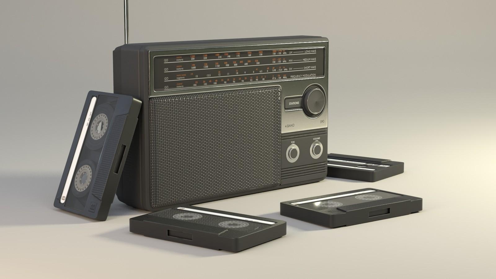 1980's Radio