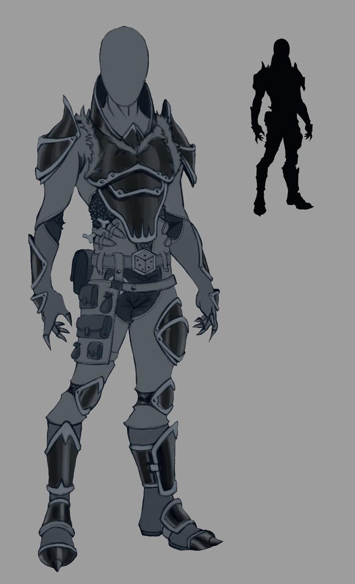 Goblin Slayer Redesign Armor [FanArt]