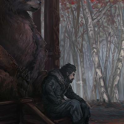 Katrin buttig vlx gavril waiting in forest lsm
