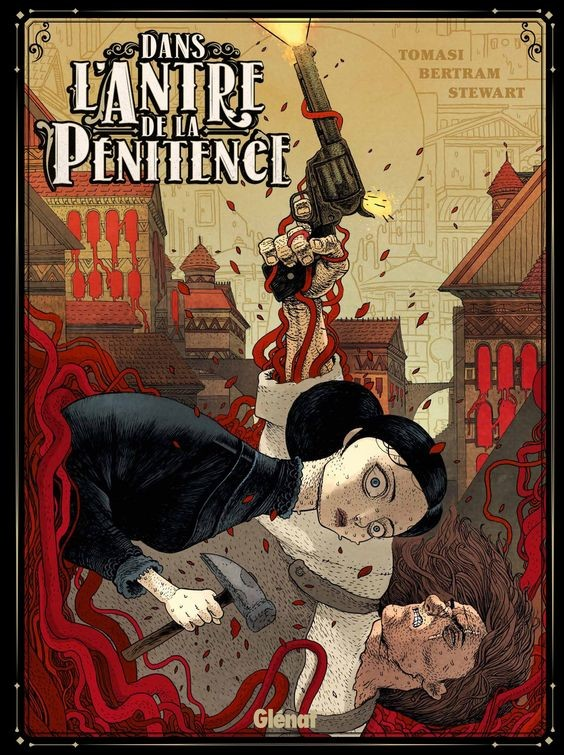 french cover for the comic book the house of penance ( glenat edition )