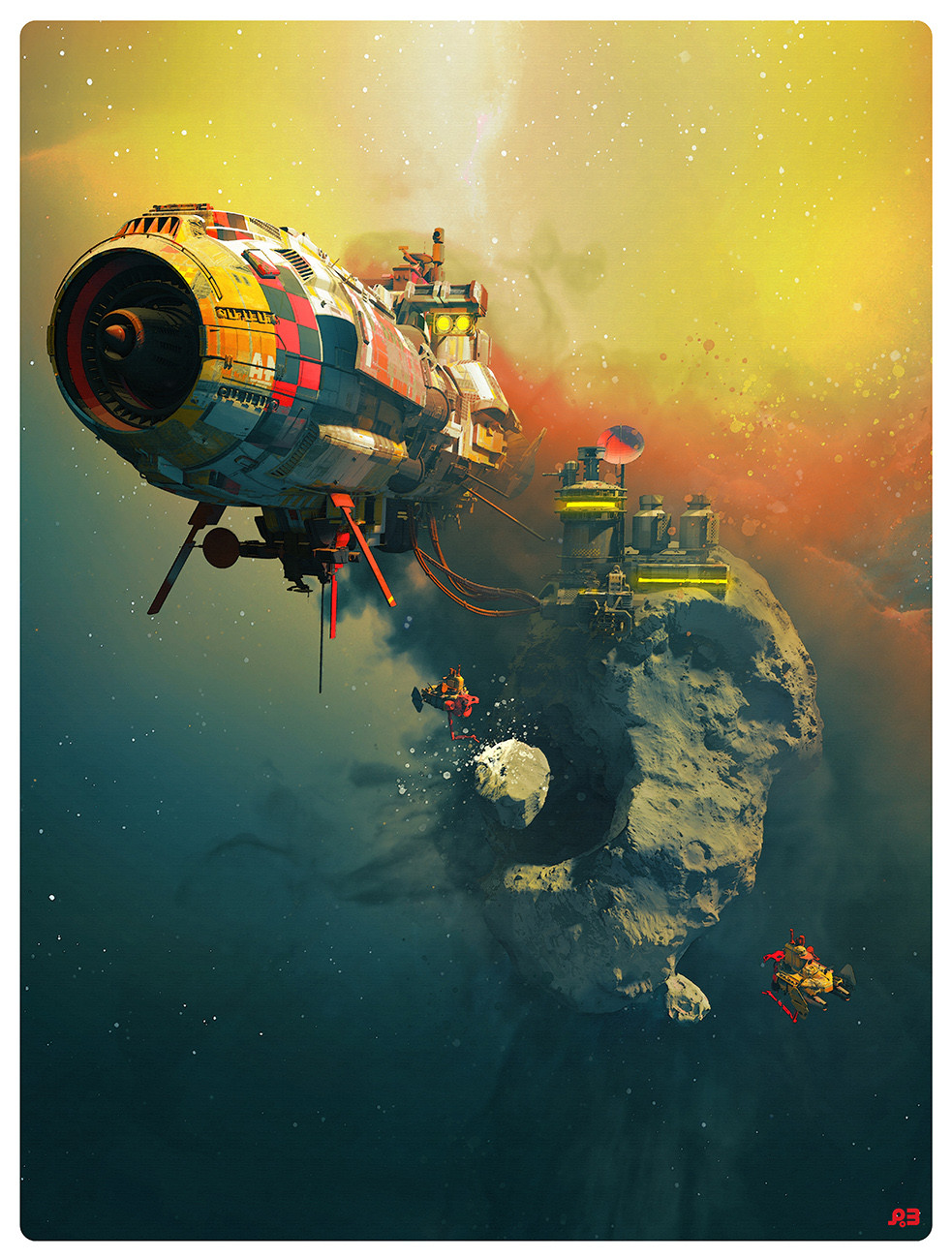 Pascal blanche foss station77 low