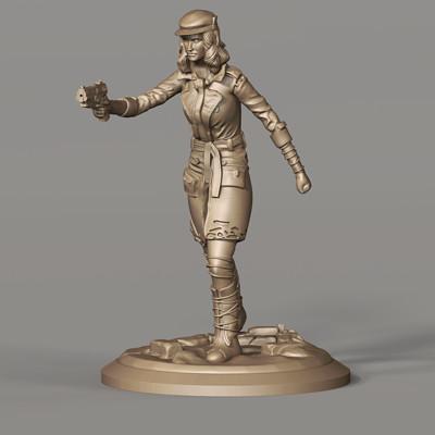 Fallout Piper Miniature