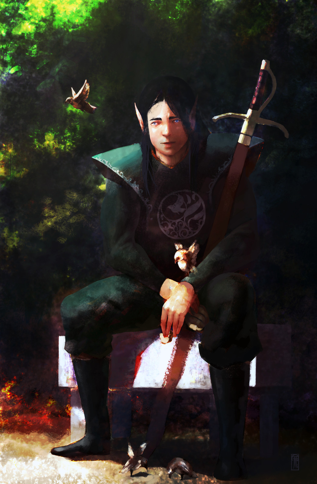 Elven nobility 02.