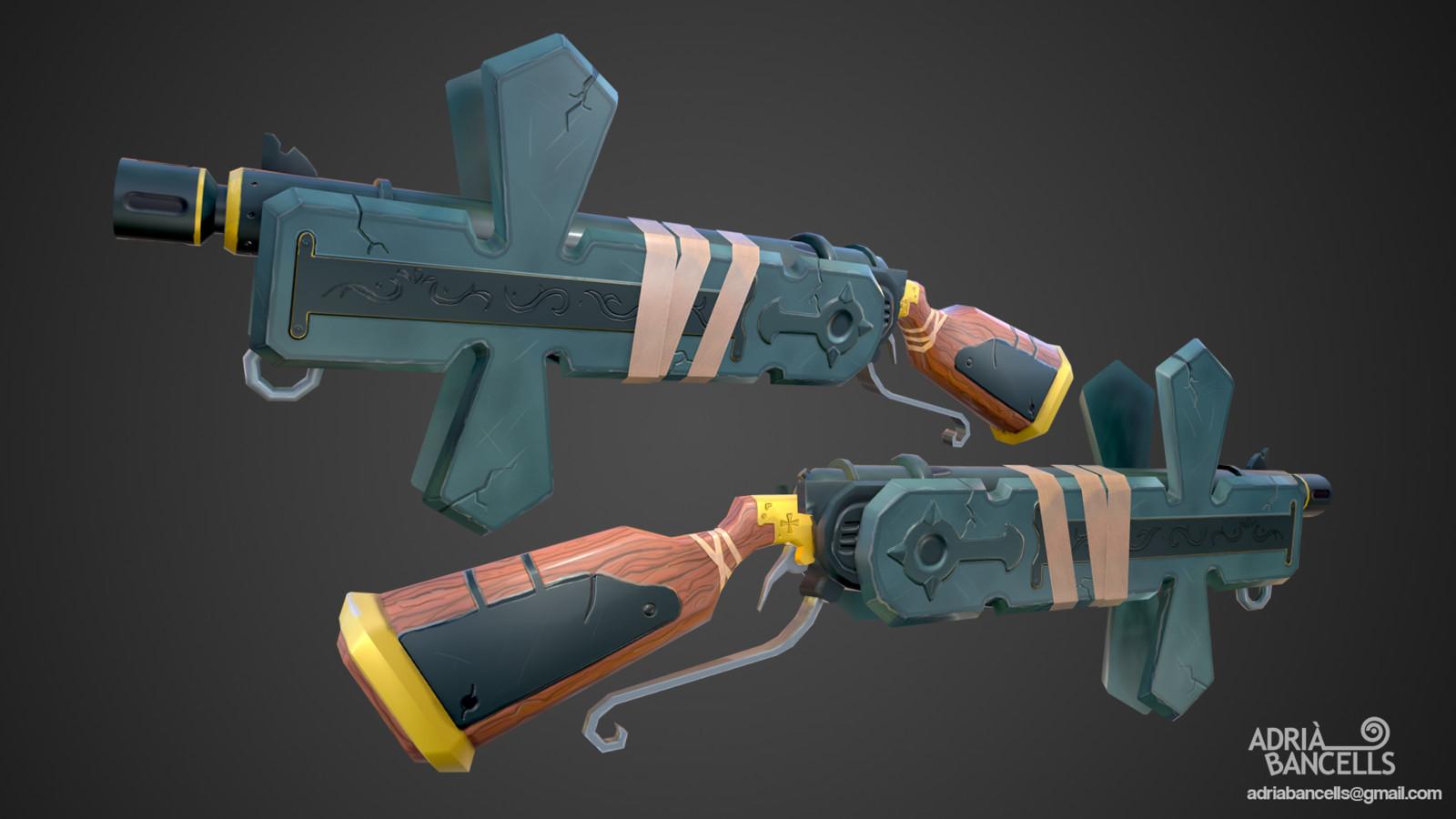Priest Gun