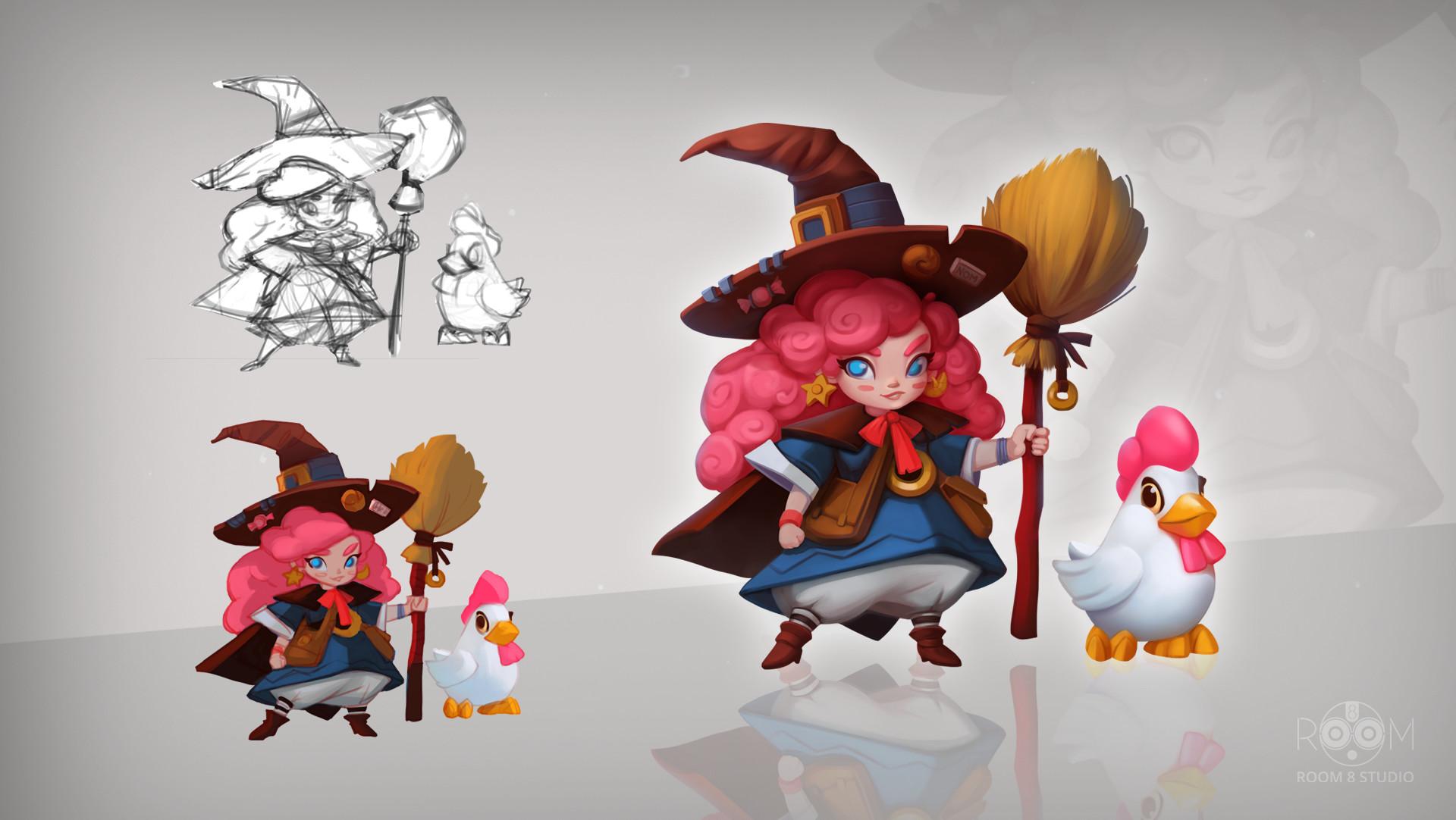Room 8 studio character design5