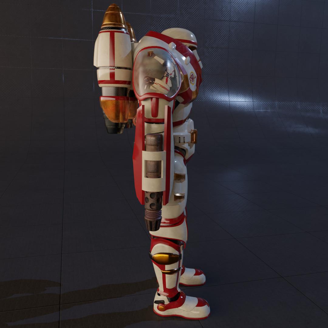 Charles Hakes - Clone Blaze Trooper Armor Custom