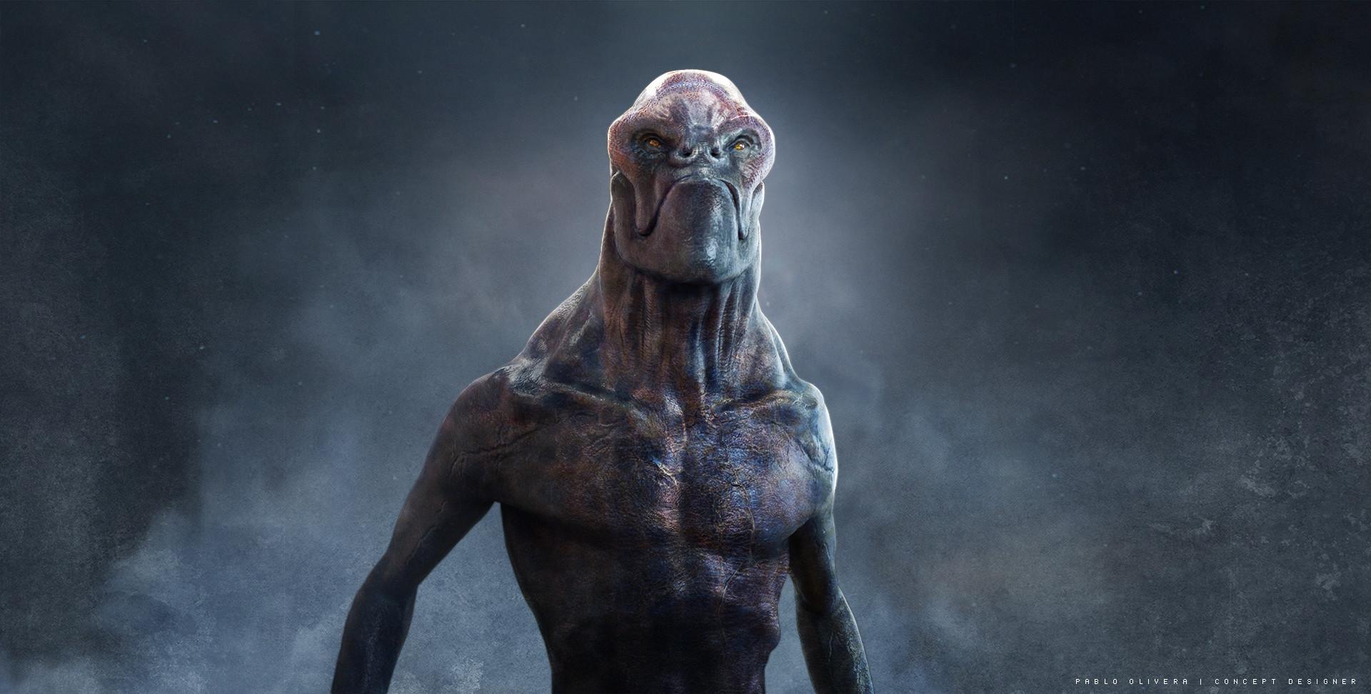 Pablo olivera alien character design by pablo olivera baja2