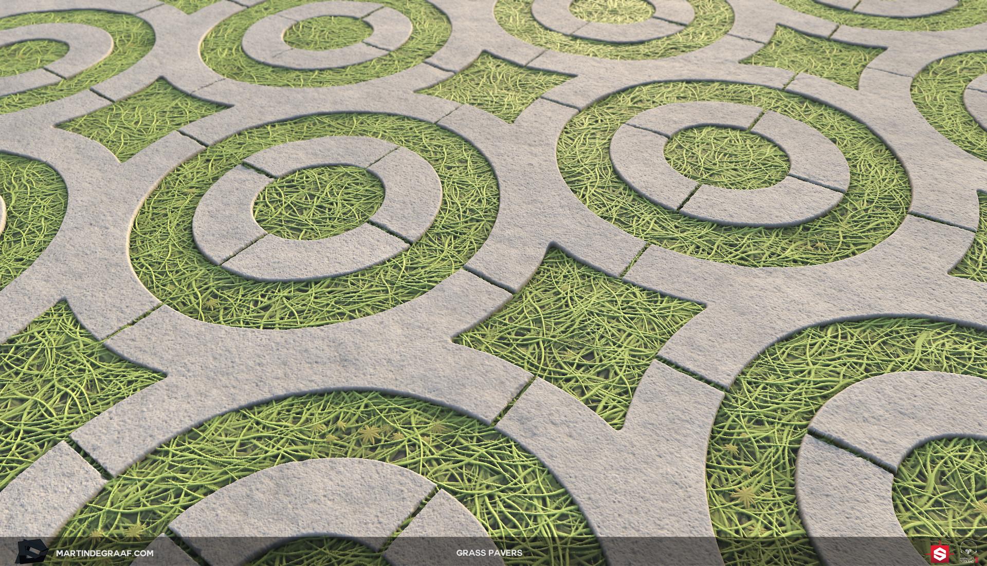 Martin de graaf grass pavers substance plane3 martin de graaf 2018