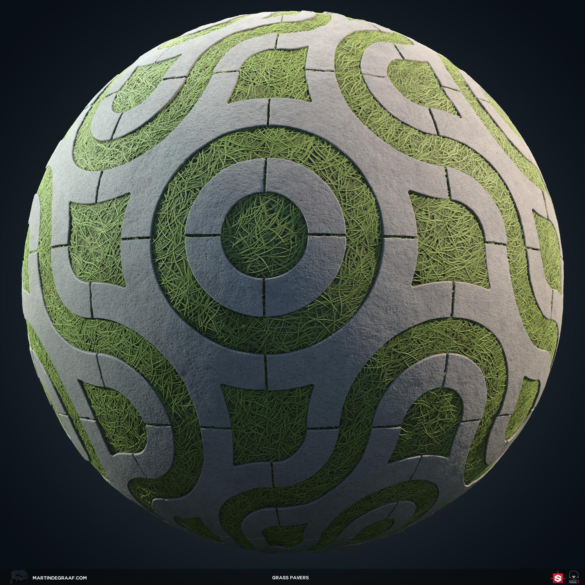 Martin de graaf grass pavers substance sphere martin de graaf 2018