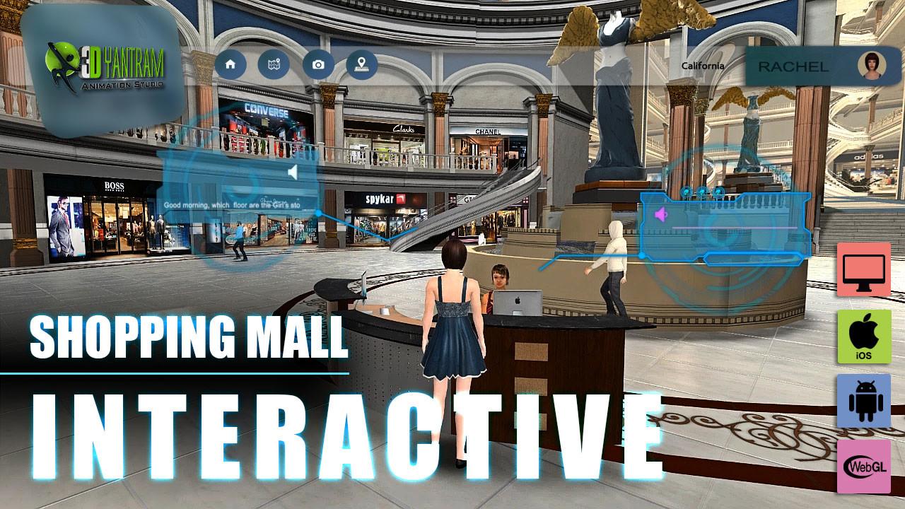ArtStation - VR Shopping Mall App Development by Yantram