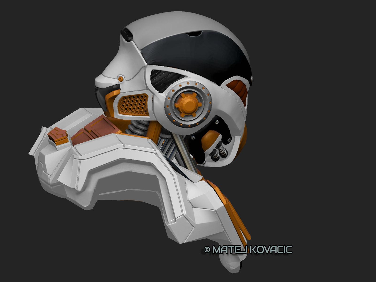 Matej kovacic sci fi helmet rx 51 zb color2 by matej kovacic