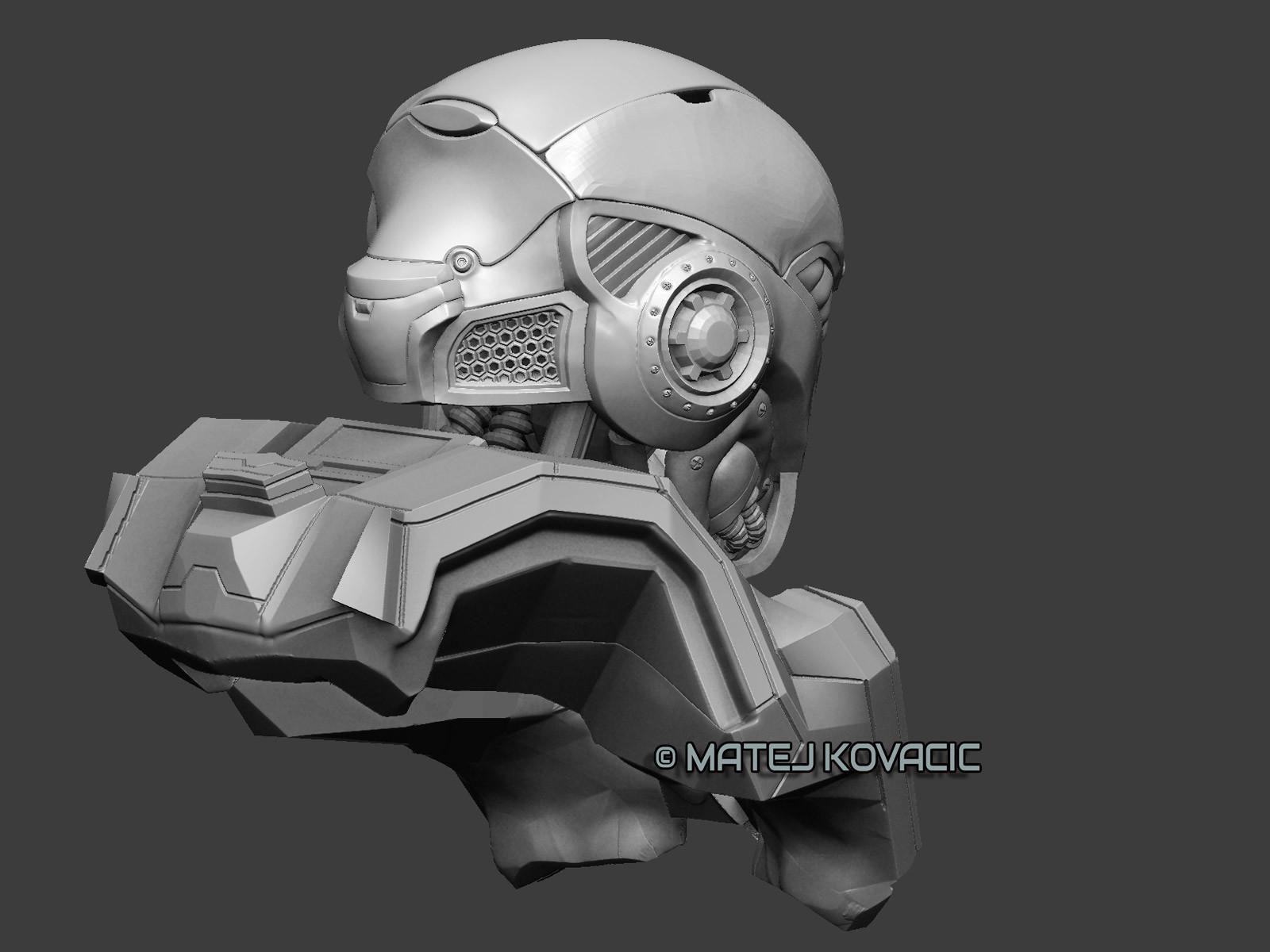 Matej kovacic sci fi helmet rx 51 zb back2 by matej kovacic