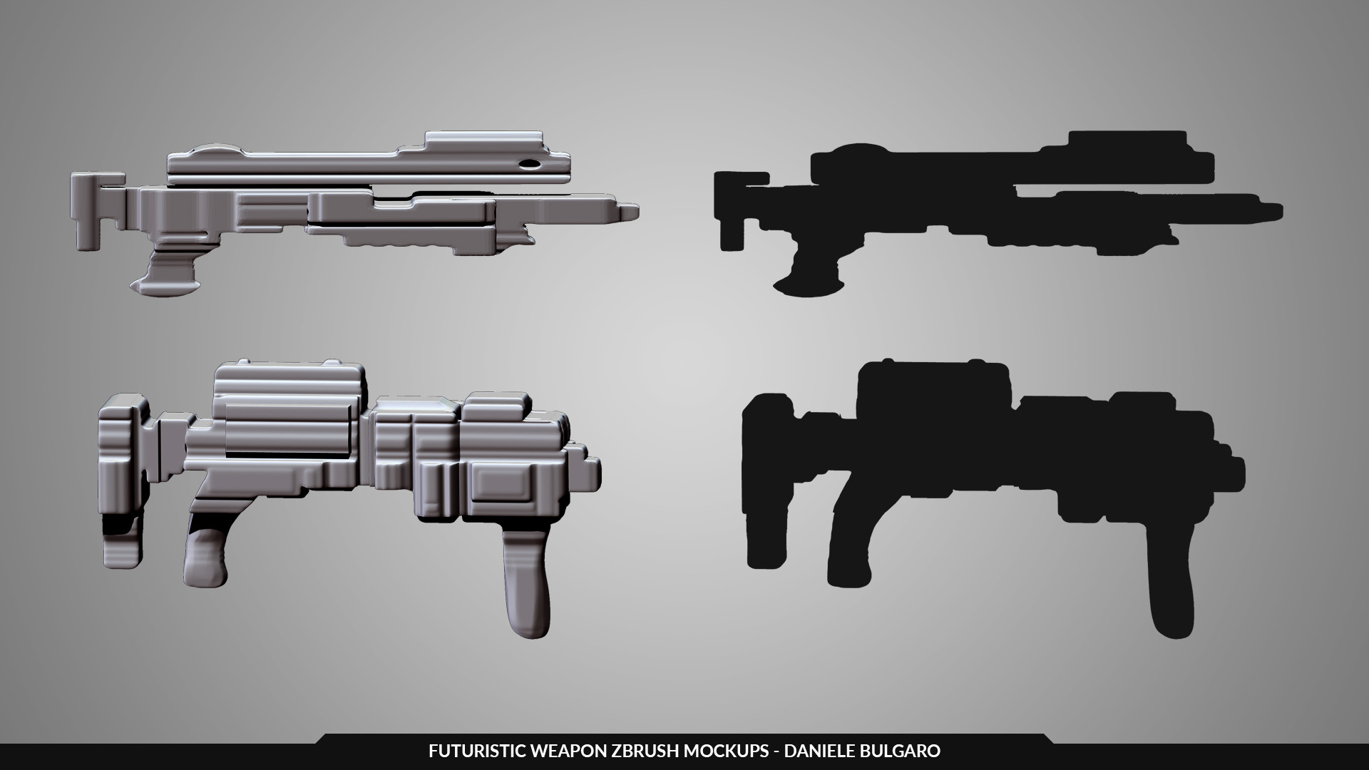 Daniele bulgaro weapon mockups danbulgaro