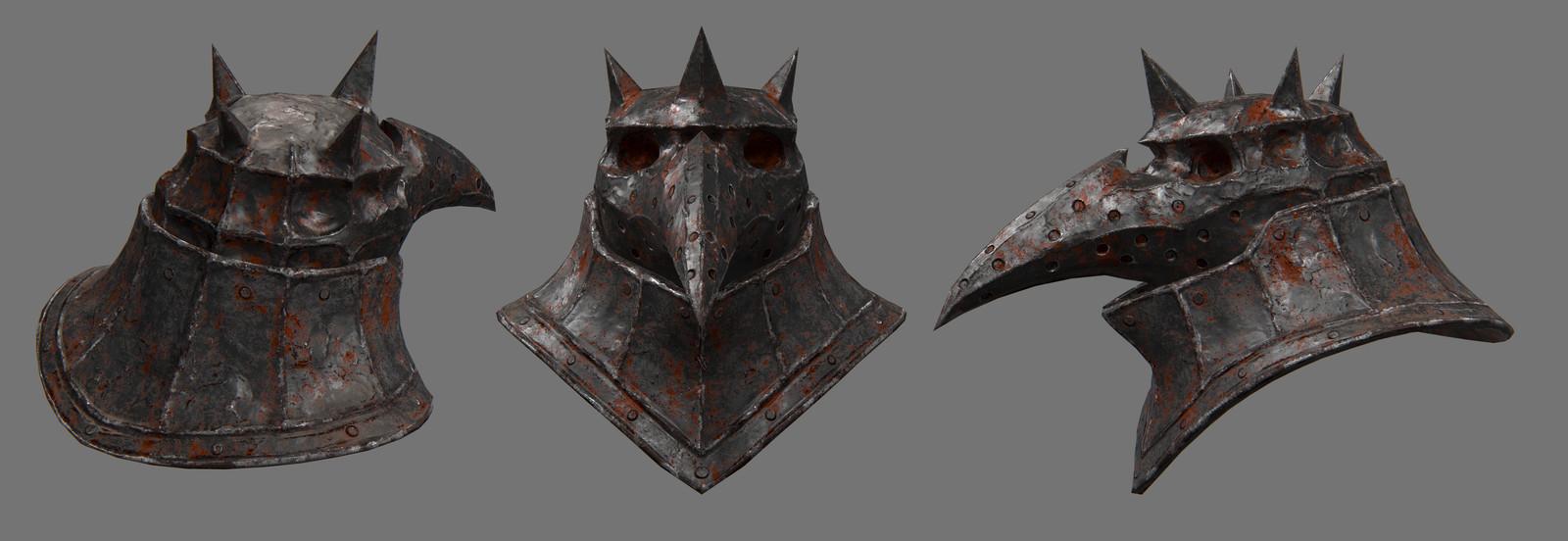 plague knight helmet