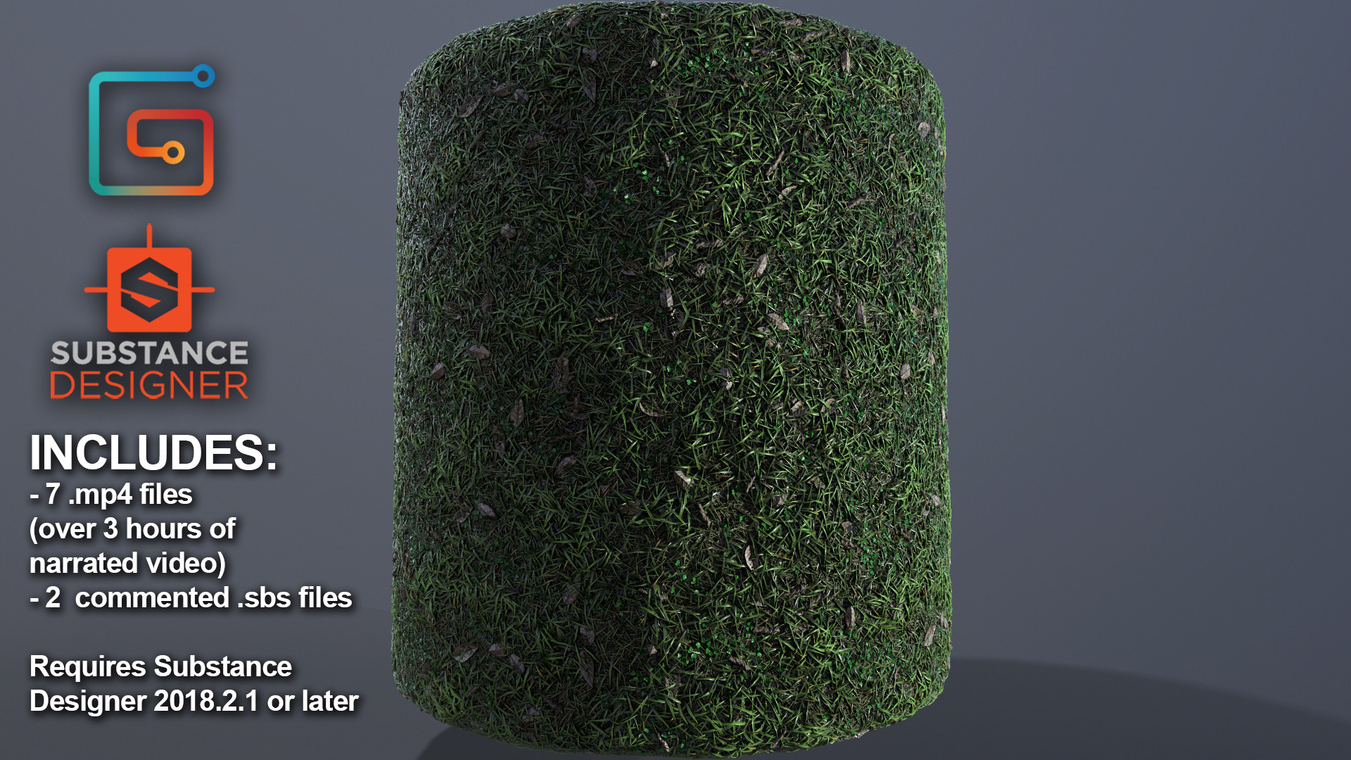 ArtStation - Substance Designer - Grass Video Tutorial, Max Golosiy