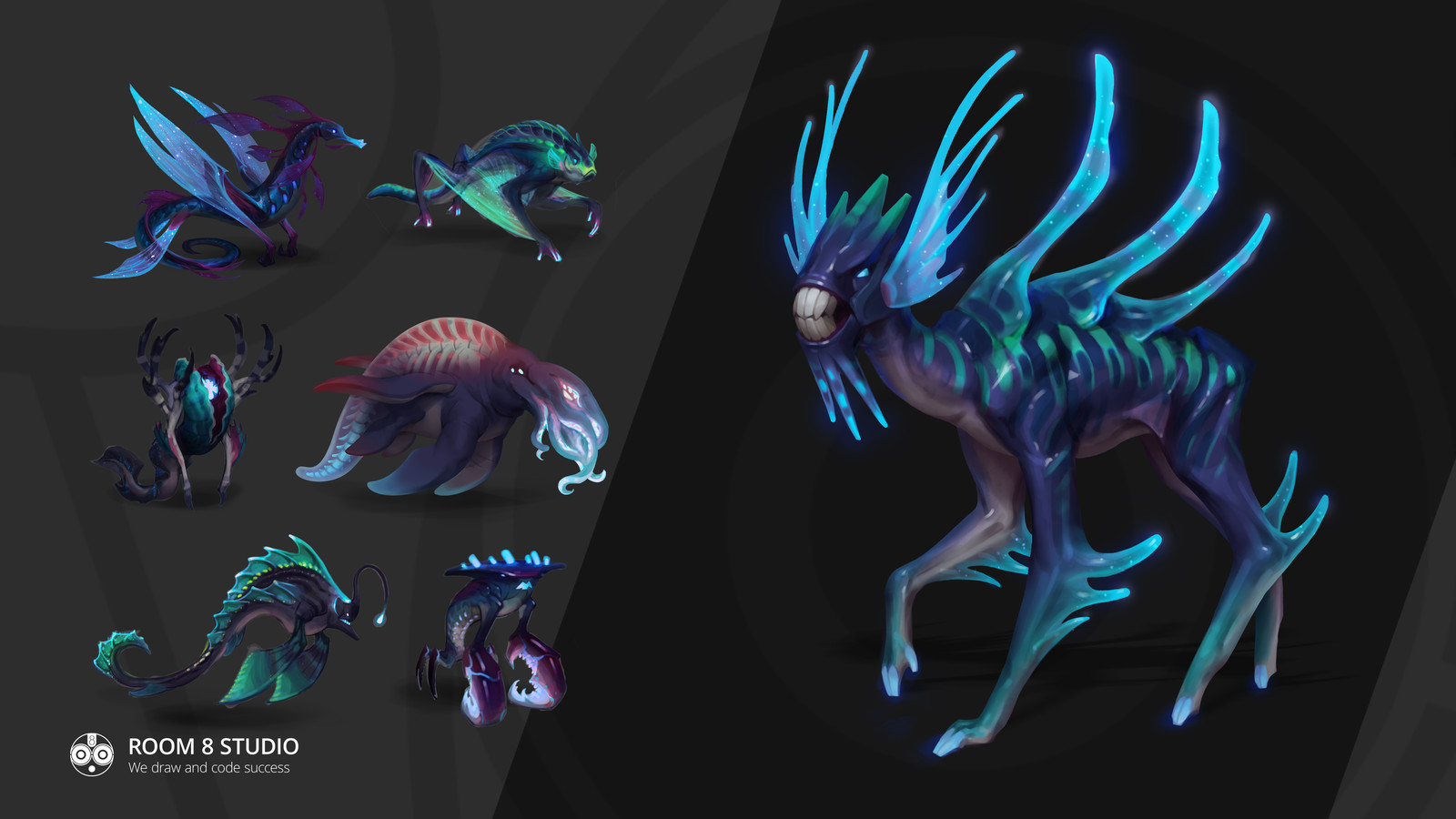 Creatures from Water Planet