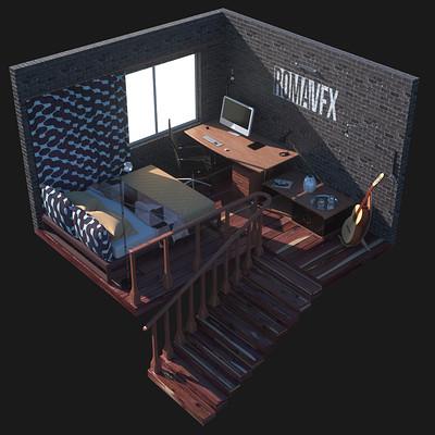 Roman boichuk day room