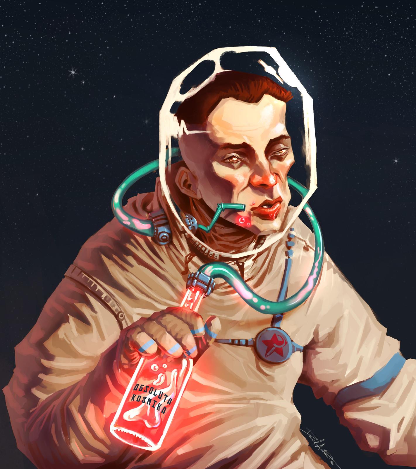 Drunk Cosmonaut