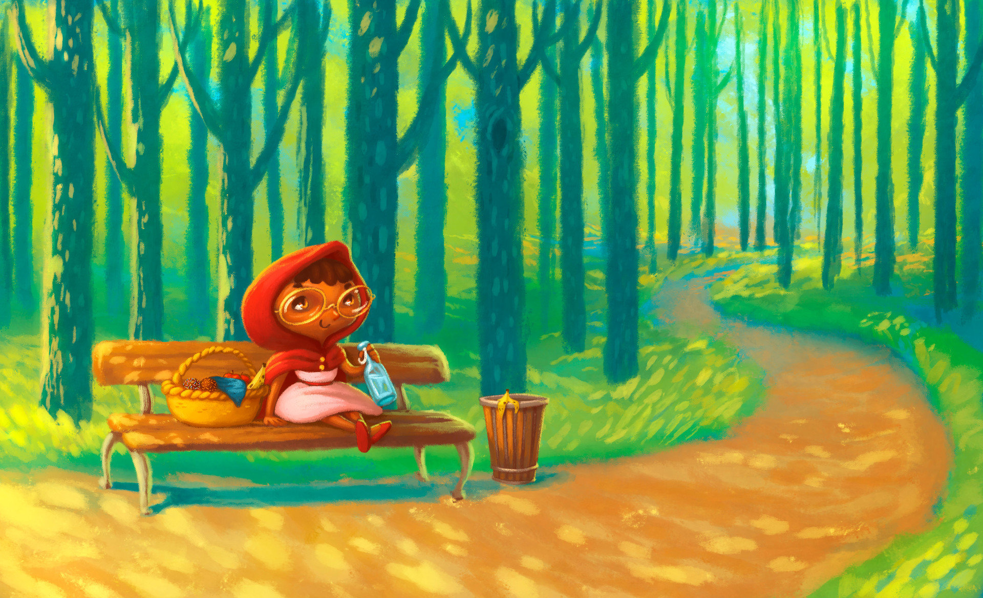 Little Red Riding Hood - Art directed by Chris K - Systemic Bilingual
