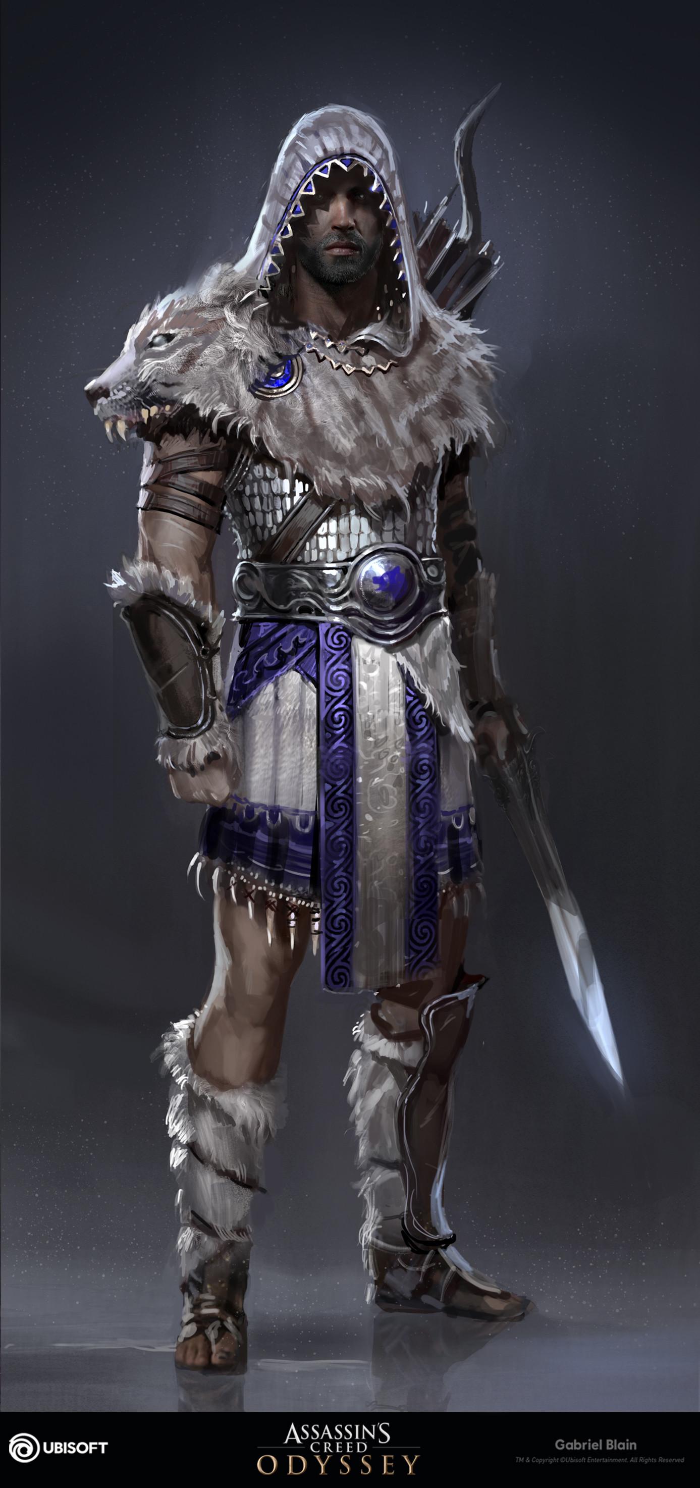 assassins creed odyssey assassins armor - HD1387×2948