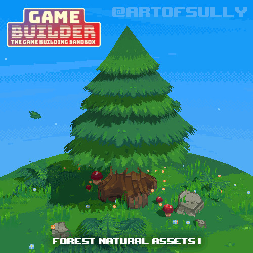 Forest Natural Assets 1 (assets for 'Game Builder')