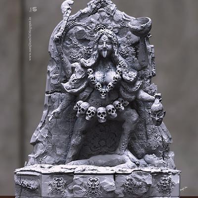 Surajit sen maa kaali digital sculpt by surajitsen 08112018
