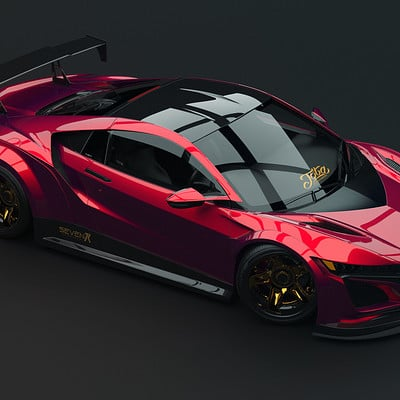Javier oquendo acura nxs widebody top view