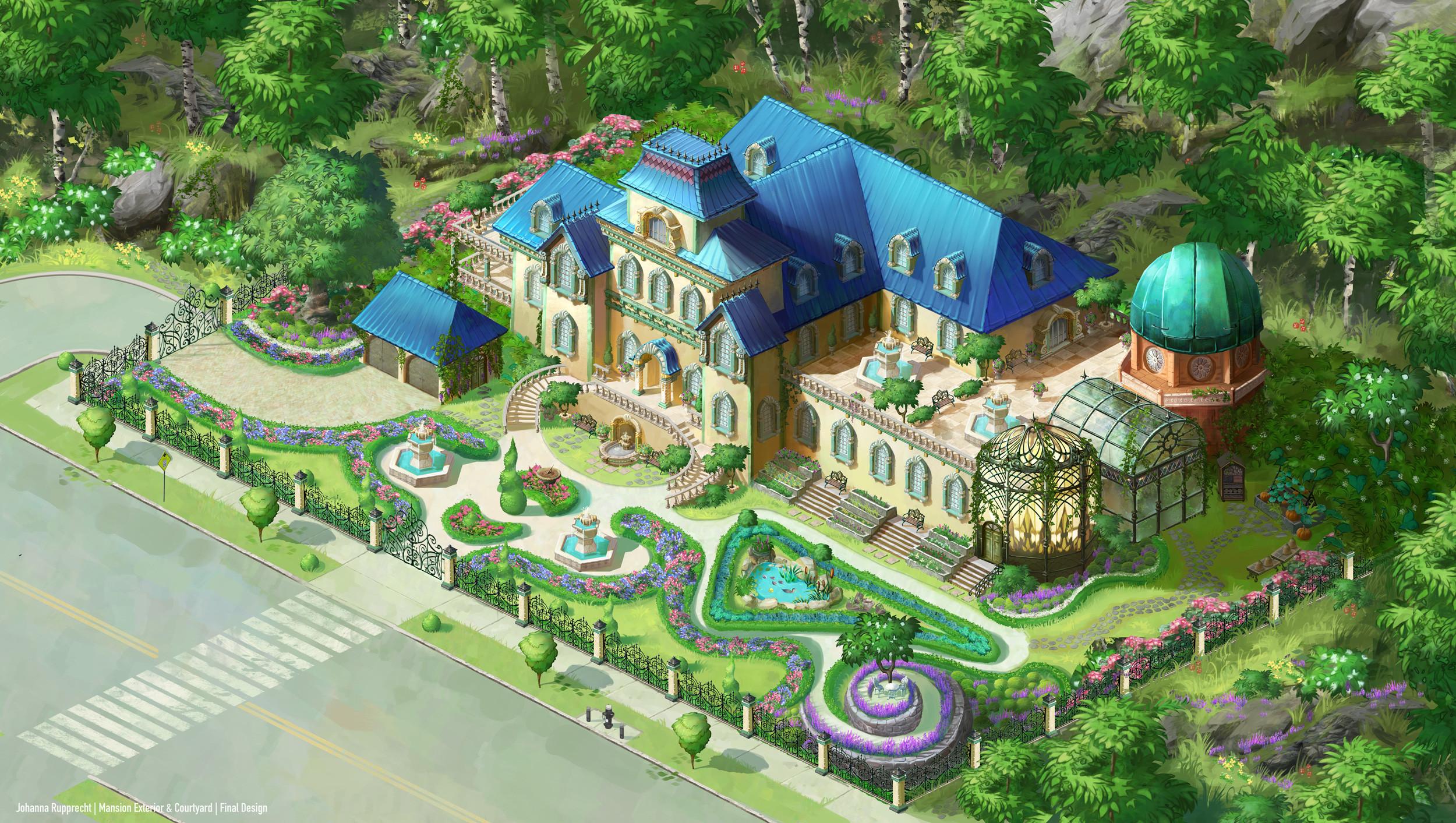 Mansion Exterior Design