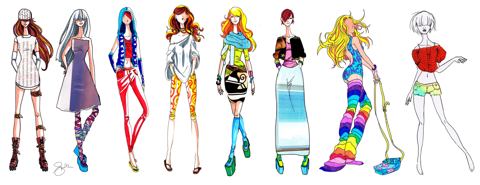 Shellz art fashion designs 1