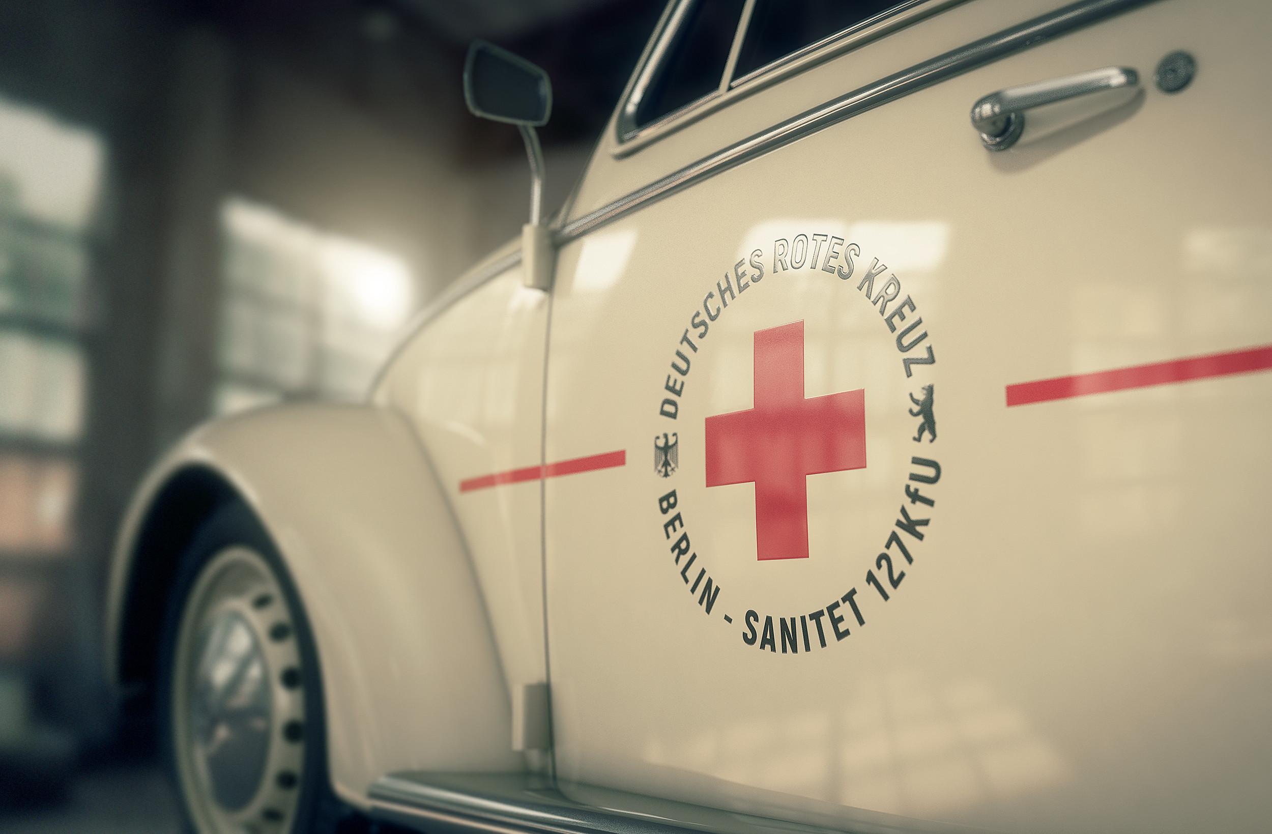 VW Type 1 2400 Diesel, ambulance