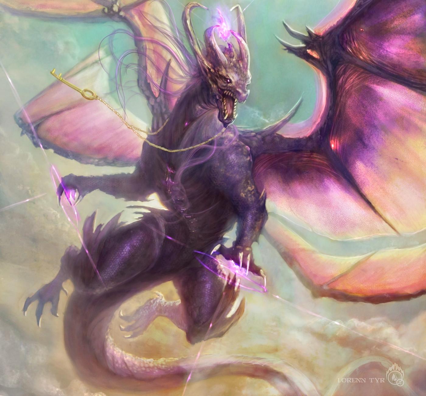 Lorenn tyr dragon poemasfin