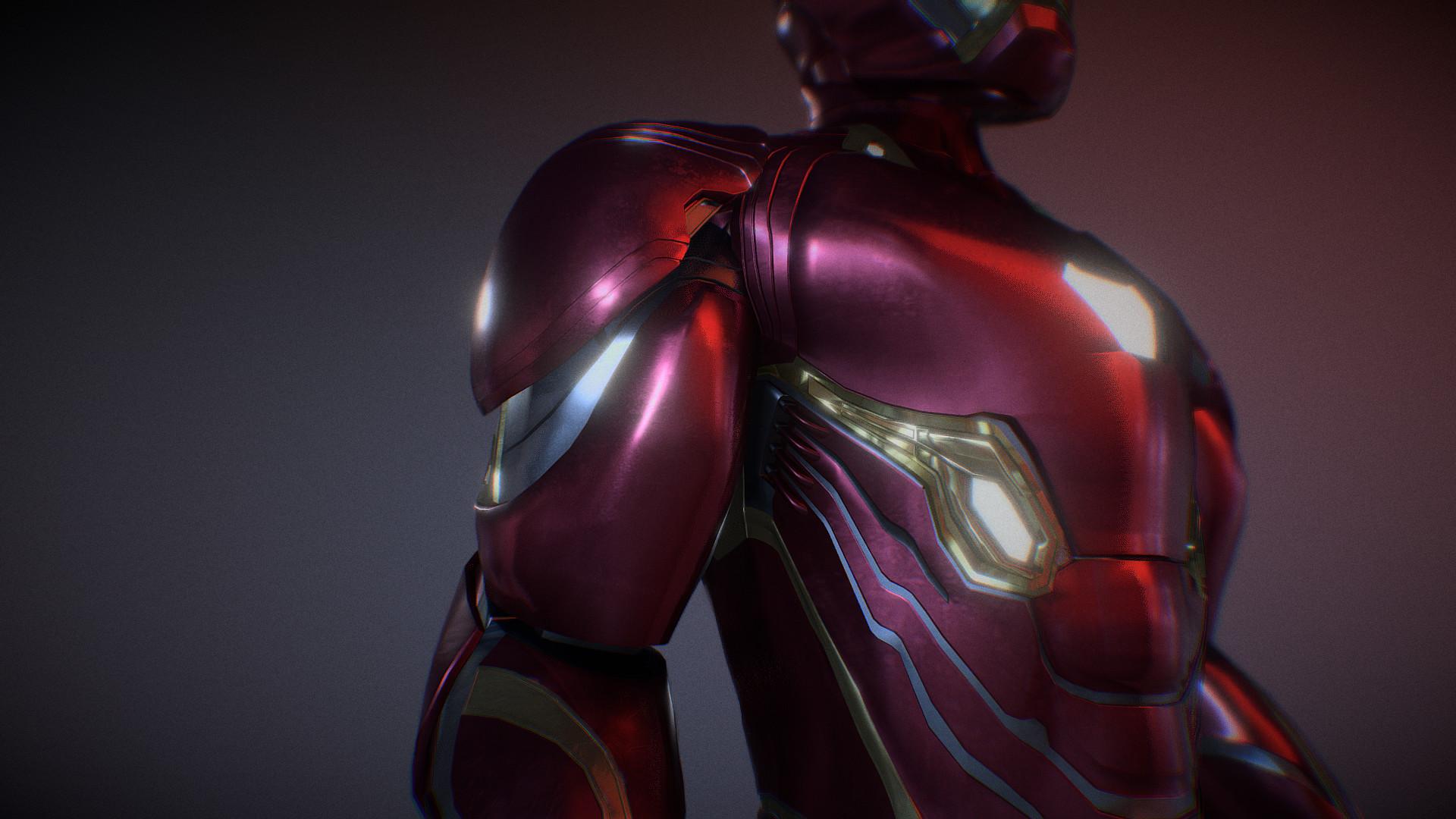 ArtStation - Iron Man - Avengers Infinity War Armor, James
